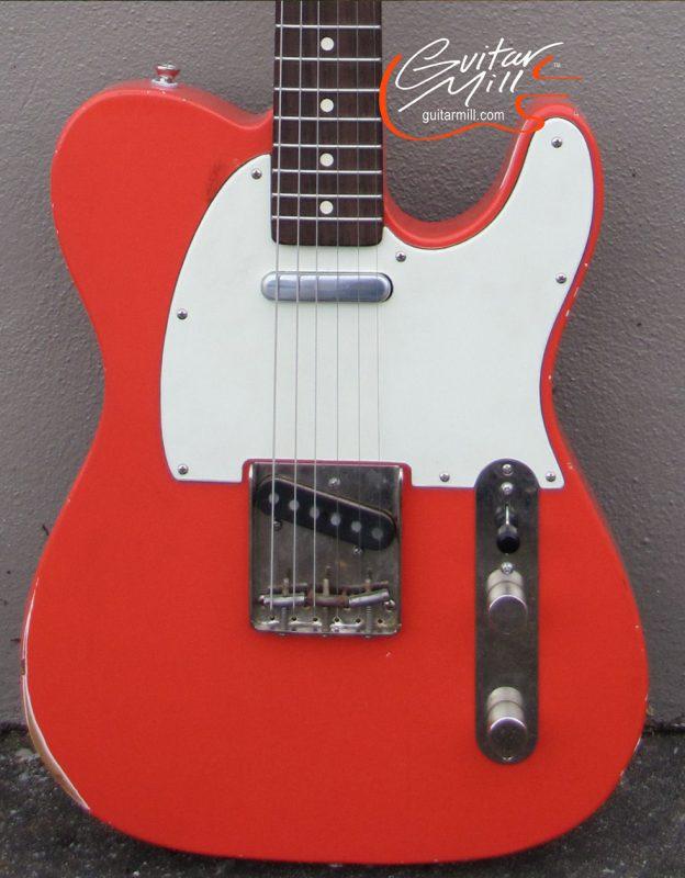Guitar Mill -guitarmill Sonic BlueT relic aging a. copy