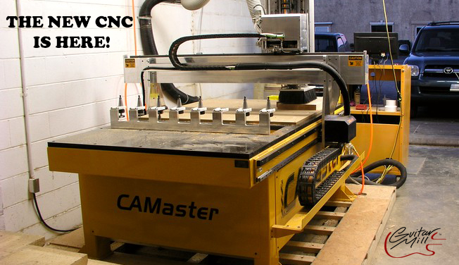 The CNC at Guitar Mill
